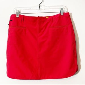 Lole Quick Dry Red Skort size 6